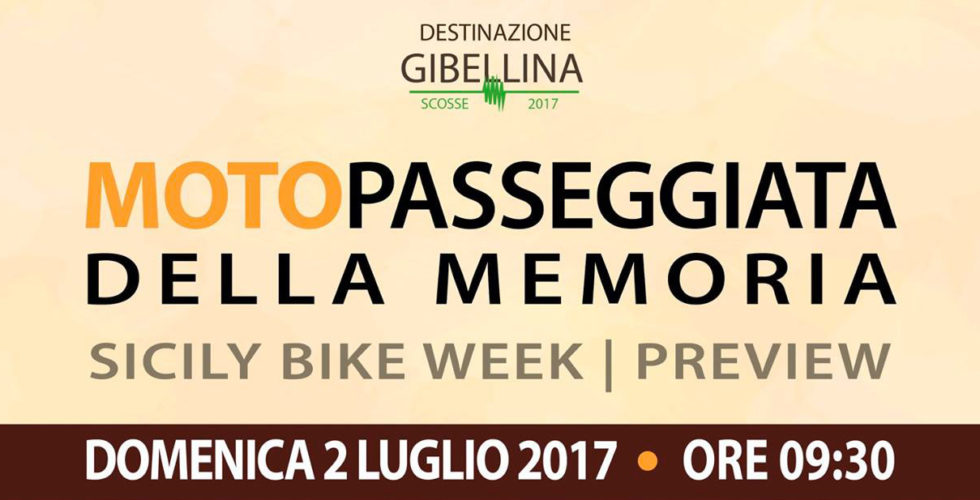 Sicily Bike Week – Destinazione Gibellina